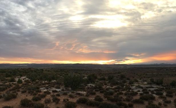 Moab Under Canvas Sunrise