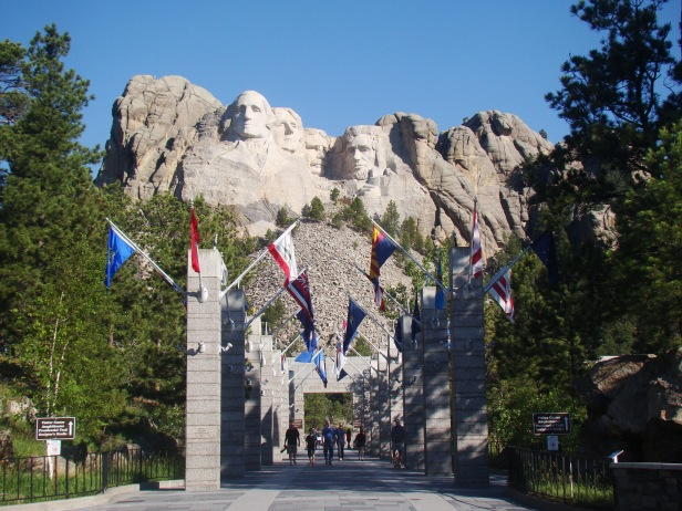 Mt. Rushmore Flags