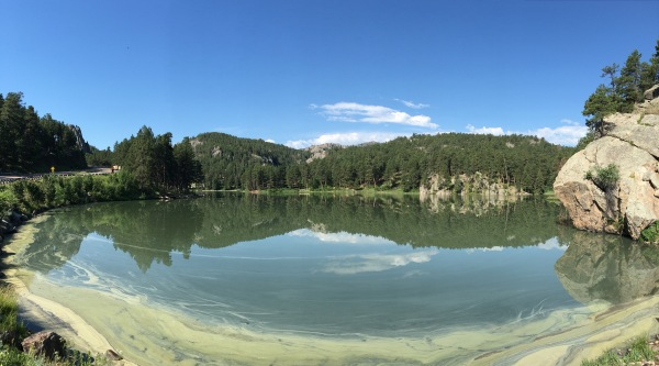 Mt. Rushmore Lake