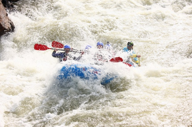 Whitewater Rafting Class IV