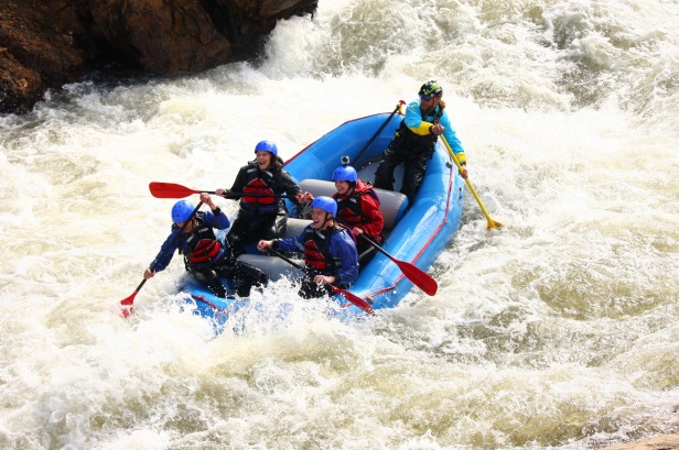 Whitewater Rafting Clear Creek