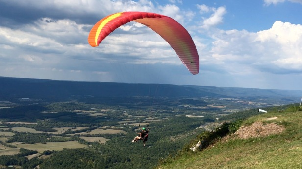 Paragliding Launch