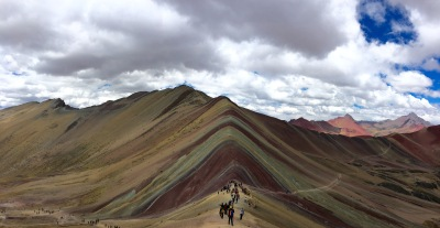 Rainbow Mountain View