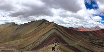 Rainbow Mountain View